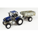 New Holland T5.115 with Trailer