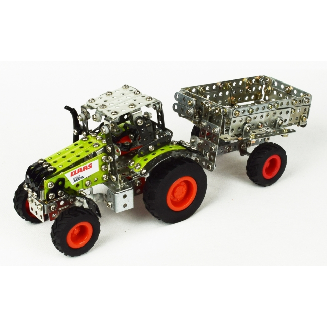 Claas Arion 430 with Trailer (588 parts)