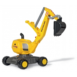 New Holland WE 170B Push-along Pro Mobile Excavator by Rolly Toys - +3 years