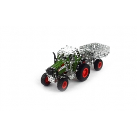 Fendt Vario 800 with Trailer (354 parts)