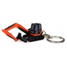 Kubota KX-080 Excavator - Keychain Diecast - Universal Hobbies