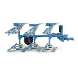 Lemken Opal 090 3-Furrow Reversible Plough (Slatted)