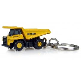 Komatsu HD605 Highway Dump Truck - Keychain Diecast - Universal Hobbies