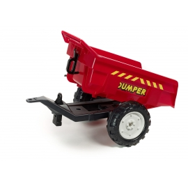 2-Wheels Dumper Trailer -RED