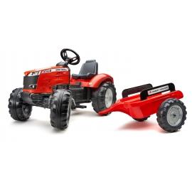 Massey Ferguson 8740S + Trailer - Pedal Tractor - +3 years