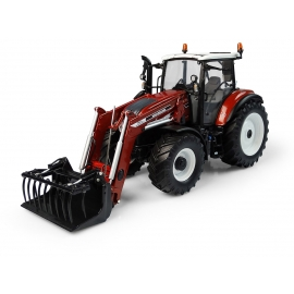 New Holland T5.120 Centenario with Front Loader - Terracotta color