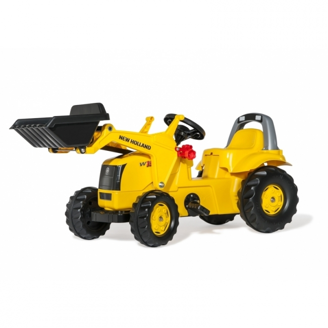 New Holland Ride-on Pedal Wheel loader by Rolly Toys - +2.5 years