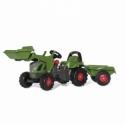 """Fendt 516 Vario Pedal Tractor w/Trailer,&,F,""""ront Loader - Rol,19"""""""