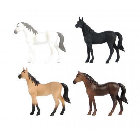 Horses 4 pcs 2assorted