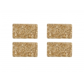 Rectangular bales 4pcs