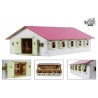 Horse stable with 9 boxes