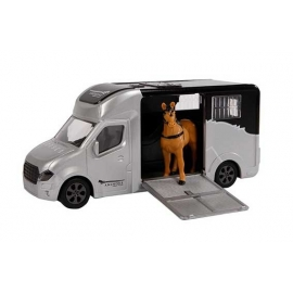 Anemone horse truck with one horse die cast pull back with light & sound