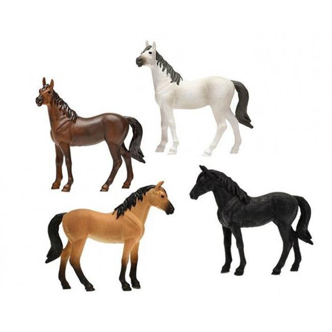 Horses 4pcs 2 assorted