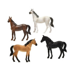 Horses 4pcs 2 assorted