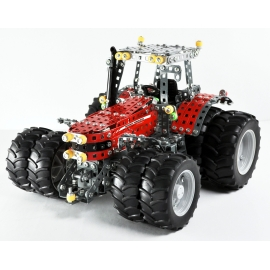 Massey Ferguson 8690 with Twin tires - 1057 pieces DIY metal construction kit