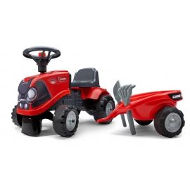 Case IH Push-Along Tractor w/trailer, Rake & Shovel - 2 sets of decals