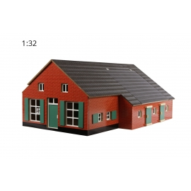 Wooden Farmhouse with stable
