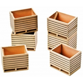 Potatoe boxes 6 pcs