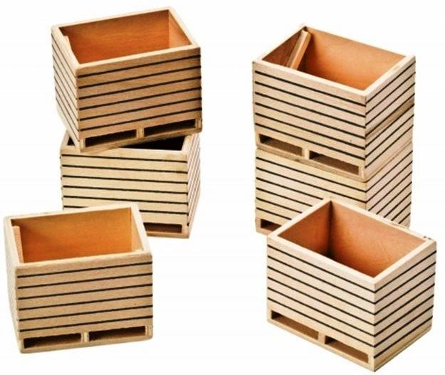 Kids Globe Wooden Slotsilo Scale 1:16