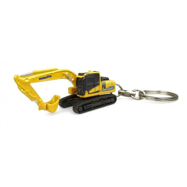 Komatsu HB205LC Hybrid Keychain