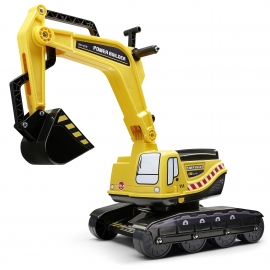 "Ride-on Excavator ""Yellow"" with Opening seat"