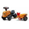 Case CE Push-Along Tractor w/trailer, Rake & Shovel - 2 sets of decals
