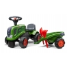 Baby Fendt ride-on tractor with trailer, rake & shovel