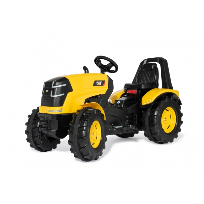 Yellow ride on pedal tractor CATERPILLAR Rolly Xtrac Premium