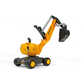 rollyDigger Yellow Push-along Excavator by Rolly Toys - +3 years